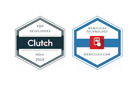 Clutch Top India Development Companies 2019 Webicules Technology