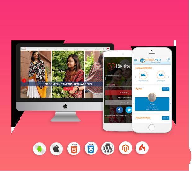 Webicules Technology website design mobile app company Noida