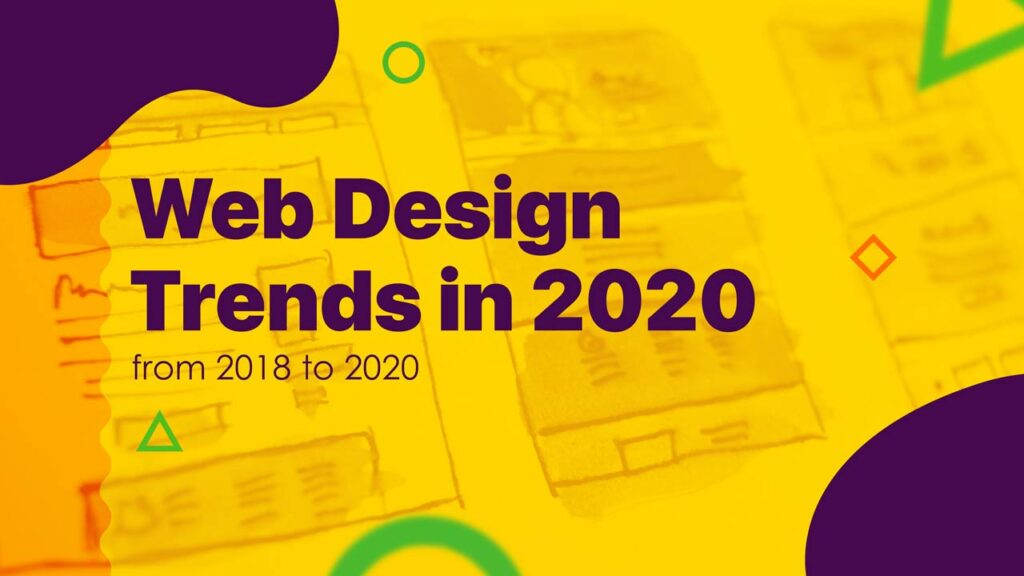 website design trends in 2020 Webicules Technology b